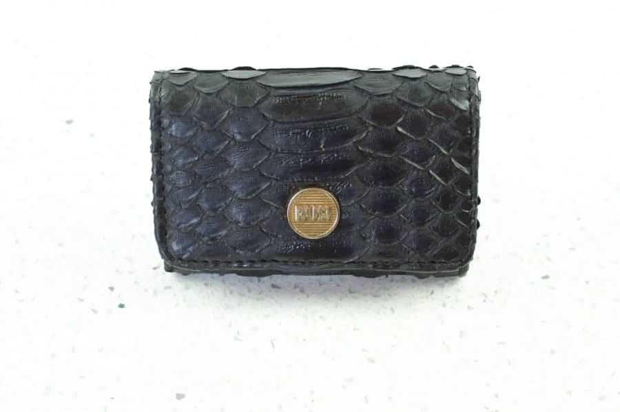 6.1a black mini wallet  scaled