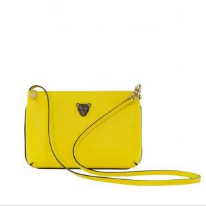Star 2.0 Bag in Yellow / Cross Body with Black Logo